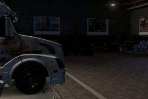 ATS liqui moly garage inside