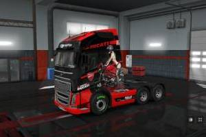 Working on Volvo FH16 2012 skins