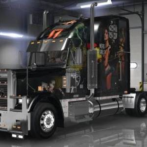 Freightliner Classic XL Leeanna Vamp Skin