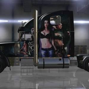 Freightliner Classic XL Leeanna Vamp Star girls skin