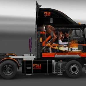 Kenworth K200/K108 Nu Simply Better Metallic Skin