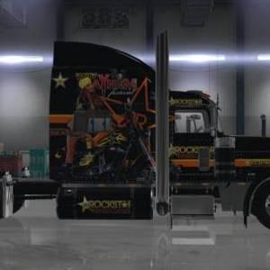 Peterbilt 389 viper2 Rockstar Energy Drink Skin