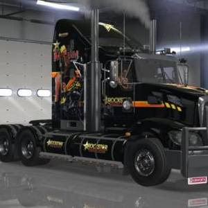 Kenworth T609 Rockstar Energy Drink skin