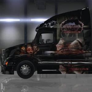 Volvo VNL 670 Gangrena Zombie Asylum Skin
