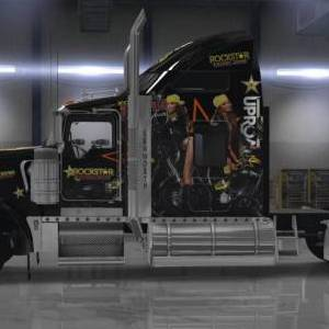 Kenworth W900 Rockstar Energy Drink skin
