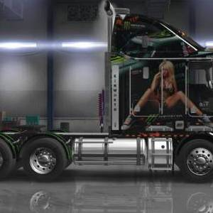 Kenworth K200/K108 Monster Energry Drink skin