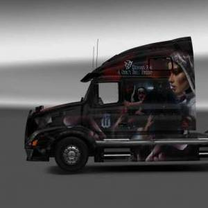 Volvo VNL 670 Powerwolf - Demons are a girl's best friend