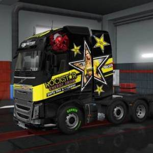 Volvo FH16 2012 skin pack